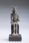 bronze figure of montu