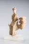 corinthian terracotta seated female n27033 6140