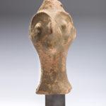 cyprus - terracotta head fragment