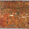 DEATIL POLYCHROME SARCOPHAGUS PANEL
