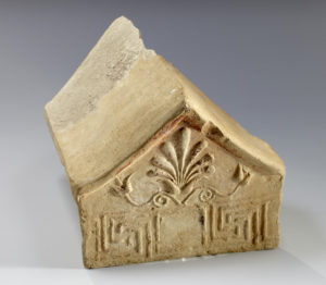east greek terracotta model of antefix