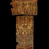 Egyptian cartonnage mummy trappings