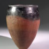 Egyptian naqada black-topped redware pottery jar