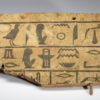 Egyptian wooden sarcophagus fragment