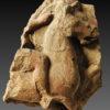 etruscan terracotta equestrian relief