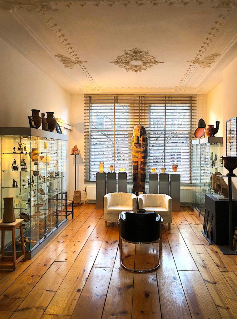 interieur kunsthandel mieke zilverberg