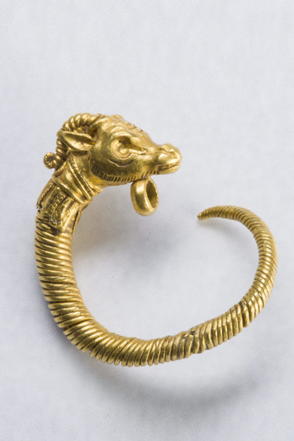 GREEK GOLD EARRING