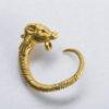 greek gold earring