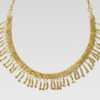 greek gold strap necklace|82. GREEK GOLD STRAP NECKLACE