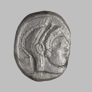 ATTICA, ATHENS, AR TETRADRACHM, C. 500-490 BC