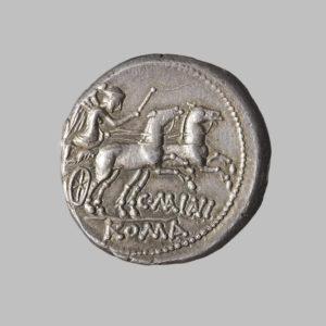 C. MAIANVS, DENARIUS, ROME 153 BC rev