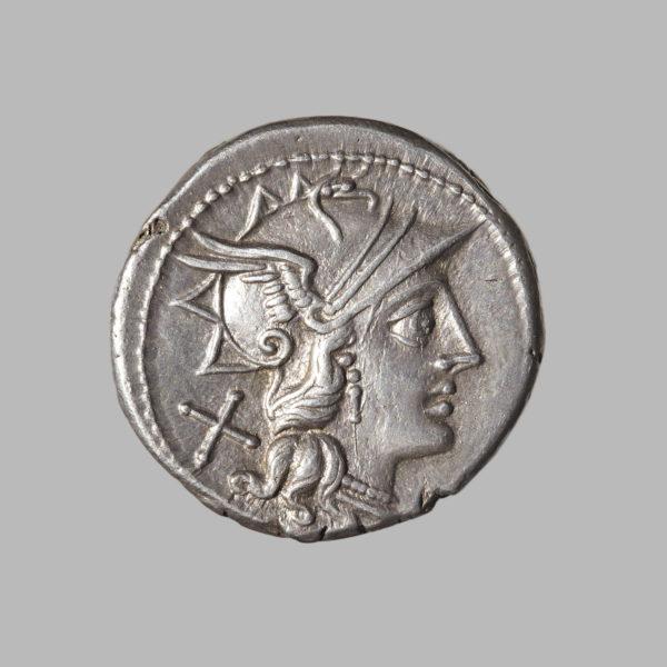 C scribonia denarius Rome
