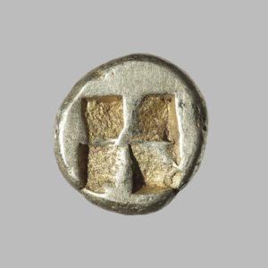 KYZIKOS, 1/6 ELECTRUM, C. 500-480 BC