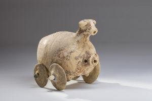 iranian terracotta rhyton