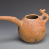 LARGE LURISTAN TERRACOTTA SPOUTED VESSEL