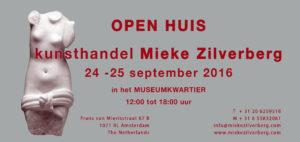 openhuis kunsthandel Mieke Zilverberg