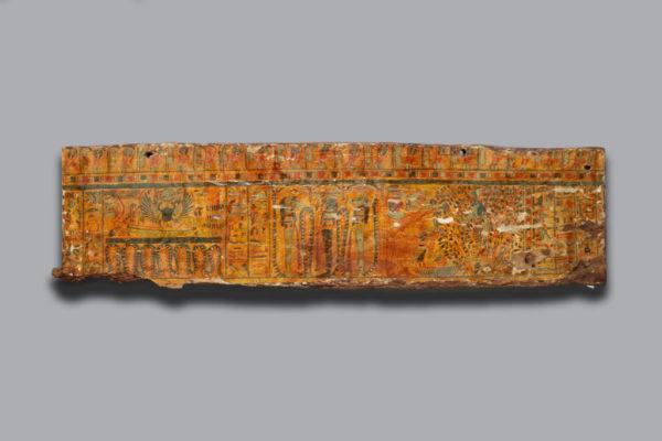 polychrome sarcophagus panel