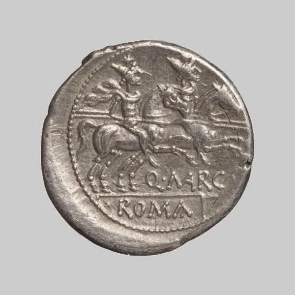 q marcius libo denarius rev