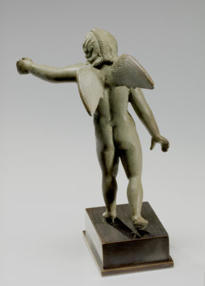 roman bronze winged amor|