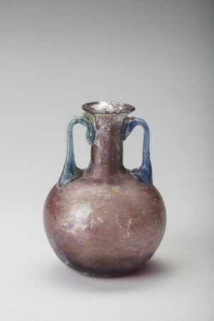Glass ROMAN PURPLE AMPHORISKOS