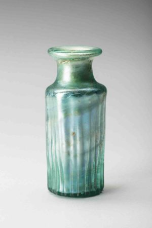 roman ribbed flask
