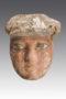 polychrome wood sarcophagus mask