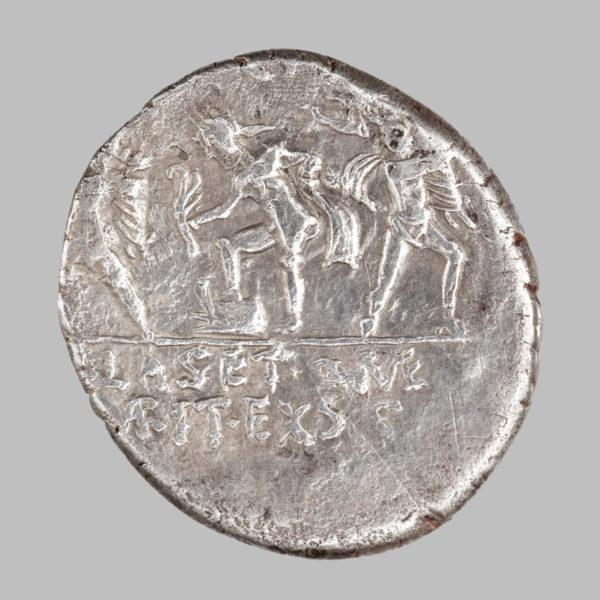 sextus pompeius denarius rev