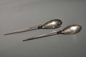 roman silver spoons