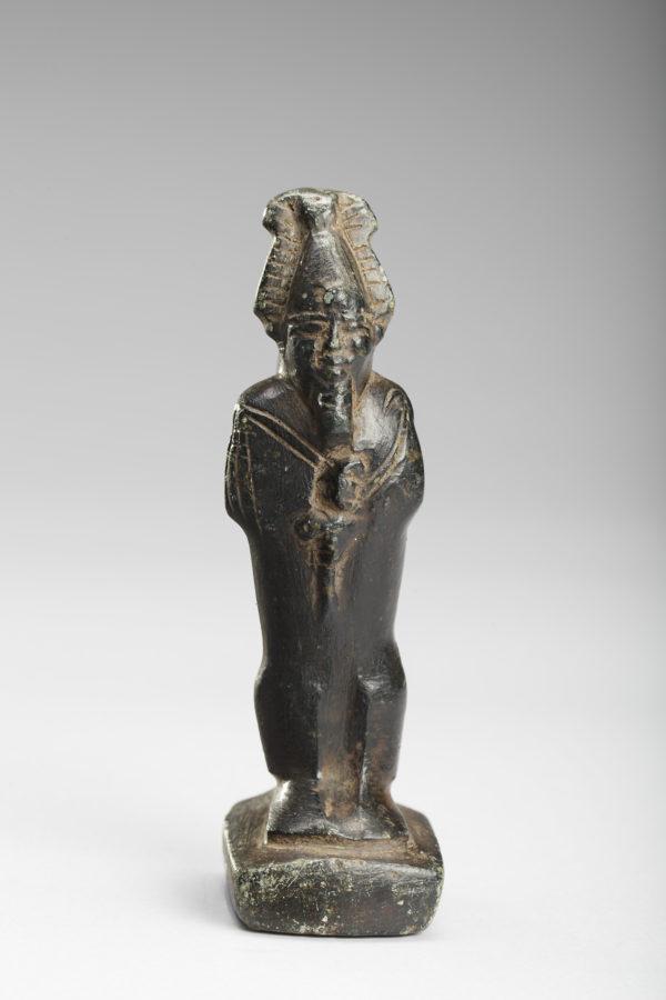 Egyptian stone standing Osiris