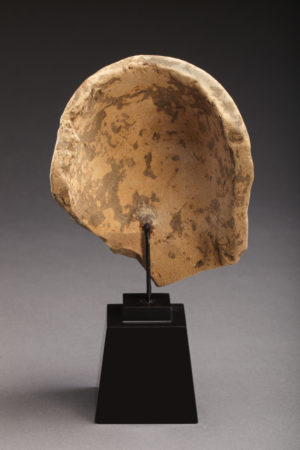 terracotta female head protome rev