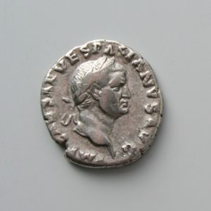 VESPASIAN (69-79 AD), DENARIUS, ROME 69-70 AD